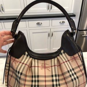 Burberry Brooklyn Haymarket Check Hobo bag (Brown)